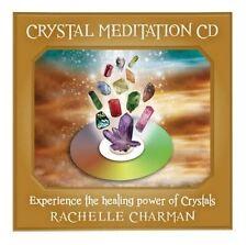 CRYSTAL MEDITATION CD Experience the Healing Power of Crystals -Rachelle Charman