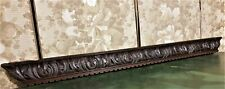 Scroll leaf panel trim carving pediment Atinque french architectural salvage