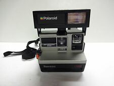 VINTAGE POLAROID SUN 600 LMS ONE STEP INSTANT LAND CAMERA TESTED WORKING VGC
