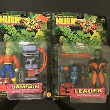 LEADER AND DOC SAMSON Toy Biz Hulk Smash NIB MOC