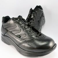 Thorogood Liberty 534-6932 Slip-Resistant Shoes Womens Size 9.5W Black Leather