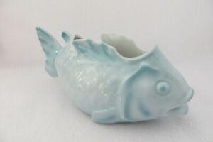 Vintage German Porcelain Fish Planter