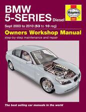 Revistas, manuales y catálogos de motor Serie 5 BMW