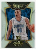 2014-15 Panini Select AARON GORDON Rookie Card RC SILVER PRIZM REFRACTOR #91