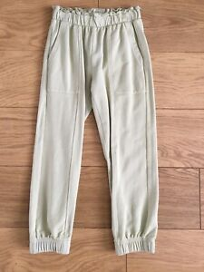 Zara Girls Green Joggers Age 7 Years