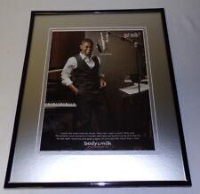 Usher 2009 Got Milk Mustache Framed 11x14 Original Advertisement