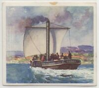 """Paddle Steamer """"Comet"""" Commercial Steamboat  c80 Y/O Trade Ad Card"""