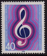 GERMANY MNH STAMP DEUTSCHE BUNDESPOST BERLIN 1976 CHORISTERS SG B506
