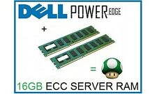 16GB (2x8GB) Memory Ram Upgrade for Dell Poweredge R610 and T610 Servers Only