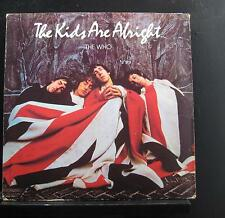 The Who - The Kids Are Alright 2 LP VG+ MCA2-11005 1979 w/Book Vinyl Record