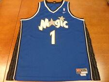 Blue Nike Tracy McGrady Orlando Magic NBA Basketball Jersey XXL +2 Length