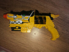 Power Rangers - Dino Super Charge - Yellow Morpher Gun