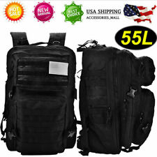 Waterproof Oxford Cloth Military Tactics Sports Backpack Bags Outdoor Black