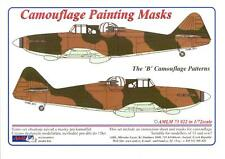 "AML Models 1/72 CAMOUFLAGE PAINT MASKS Boulton Paul Defiant Mk.I ""B"" Patterns"