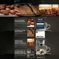 COFFEE MACHINE STORE - Mobile Friendly Responsive Website Business For Sale