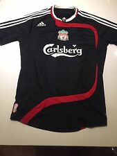 Liverpool Football Club Training Top Shirt Kit Adidas Carlsberg Men's Small S