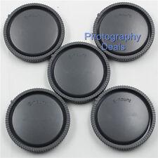 5 x E-Mount Rear Lens Cap Cover For Sony E 16-50mm 18-55mm 55-210mm 16mm Lens