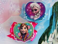 Disney Frozen Princess Anna Elsa Inspired Handmade Hair Clips Dress Bow Costumes