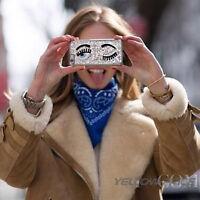 iPhone 6 Plus Sliver 3D Glad Eyes Design Hybrid Hard Case Cover+Screen Protector