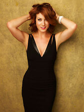 Kate Walsh 8X10 sexy black dress closer