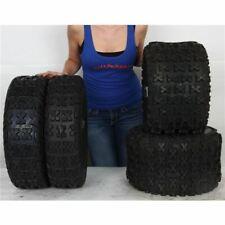 21x7-10, 18x10-9 Sedona Bazooka ATV UTV Front & Rear Tire Kit - 4 Tires