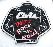Elvis Presley Rock N Roll Jacket Iron On Patch NEW