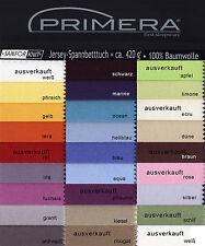 Primera Jersey Spannbettlaken 100 Baumwolle 100x200 In Limone