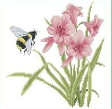 """NEW Cross Stitch Kits""""Orchids and bees"""""""