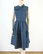 Marc by Marc Jacobs Patch Bow Dress in Deep Blue 8 $528 8249 BM6