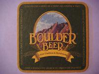 Beer Coaster Mat ~ ROCKIES Brewing Co Extra Pale Ale, Porter ~ Boulder, COLORADO