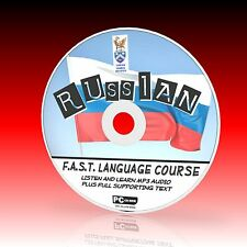 SPEAK RUSSIAN PCCD LANGUAGE COURSE EASY TO LEARN BEGINNER PROGRAM MP3 + TEXT NEW