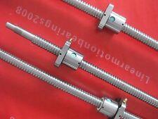 3 ballscrews 2005-1150/800/350mm endmachined + 3 nuts