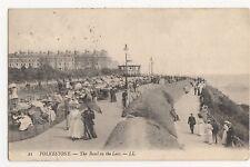 Kent, Folkestone, The Band On The Leas, LL Postcard, A828
