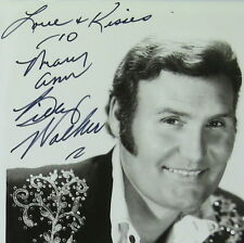 Billy Walker, Original Autographed Publicity B&W Photograph, Grand Ole Opry