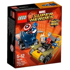 Lego Super Heroes Marvel 76065 Mighty Micros: Capitán América vs. Cráneo Rojo