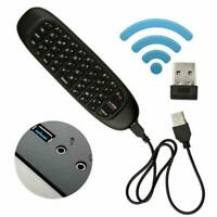 Mini 2.4G Remote Control Wireless Keyboard Air Mouse BOX Smart TV Android C6O7