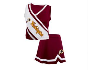 Outerstuff NFL Football Toddler Girls Washington Redskins Cheerleader Set