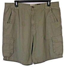 Schmidt Work Wear Cargo Shorts Men's Size 42 Khaki Green  (q1)