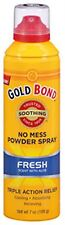 Gold Bond No Mess Powder Spray, Fresh Scent with Aloe 7 oz