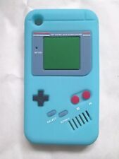 RETRO Nintendo Game Boy Silicone/Rubber Case for the  iPhone 3G/3GS Light Blue