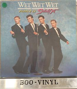 "Wet Wet Wet – 'Popped In Souled Out' 12"" vinyl album LP. 1987 UK. EX Con"