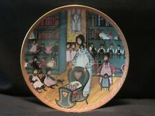 ANNA PERENNA Amish Art Plate - Mother's World - 1993 - P Buckley Moss