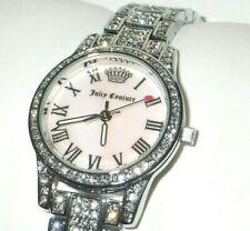 Juicy Couture Ladies JC/1261PMSV Black Label Pink MOP Dial Ladies Watch