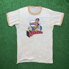 NIKEMAN 70s Vintage Nike T Shirt Ringer OG Rare Grail Geisha Hike Superman Rap