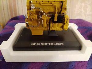 CATERPILLAR CAT C15 ACERT DIESEL ENGINE BY NORSCOT  1/12 RARE,  POWERFUL, DETAIL
