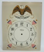 "GRANDFATHER OR OTHER CLOCK DIAL ENAMELED 14"" X 11"""