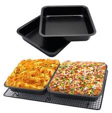 Mini Square Cake Pan 8 inch Cake Baking Pan Non-Stick Bakeware Cake Make Pan