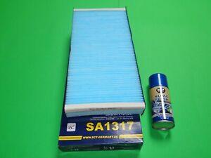 Pollenfilter / Innenraumfilter + Klimareiniger Citroen Jumpy II