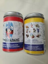 Disney's Ink and Paint Mystery Pin Collection 2 pins per can