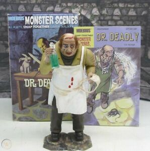 MONSTER SCENES DR DEADLY PRE-PAINTED STORE DISPLAY